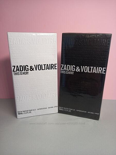 Zadig & Voltaire This is Him Туалетная вода