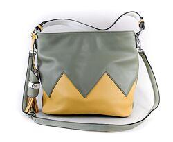 Кожаная Женская городская сумка, жіноча сумка шкіряна Кожа