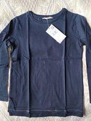 Реглан Манго футболка с длинным рукавом черный 7, 8, 9 лета