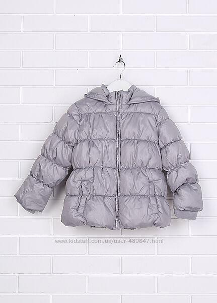 Серая куртка Kiabi