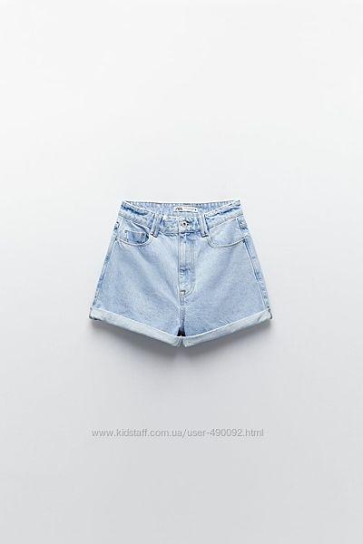 Джинсовые шорты Zara 36 размер