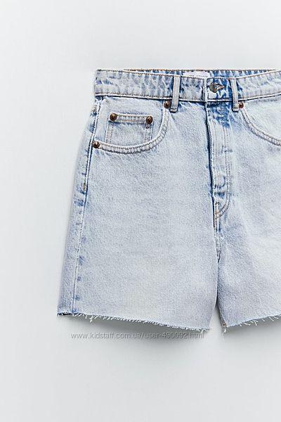 Джинсовые шорты Zara 36 и 38 размер