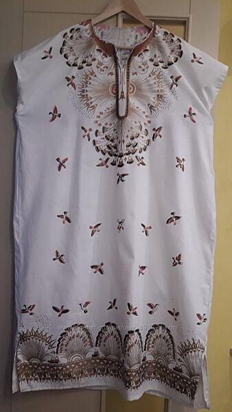 Платье-сарафан в фольклорном стиле на Троицу, Ивана Купала
