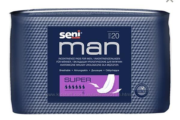 Урологические вкладыши/прокладки для мужчин SeniMan 30шт