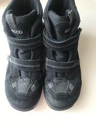 Ботинки ECCO Gore-Tex  размер 38   цвет черный