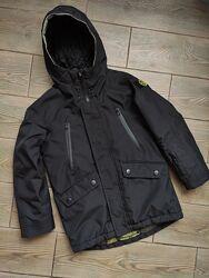 Куртка парка Деми еврозима Next 6-7лет 122см в отличном состоянии