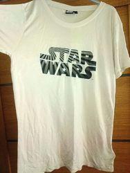 Фирменная футболка star wars р. s подростку 170-176см