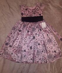 Очень красивое и нарядное новое платье для девочки 7 лет