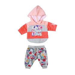 Набор одежды для куклы BABY born - Трендовый спортивный костюм розовый