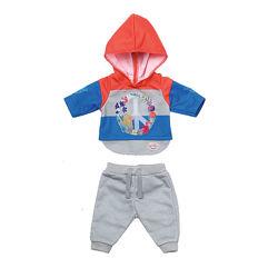 Набор одежды для куклы BABY born - Трендовый спортивный костюм синий