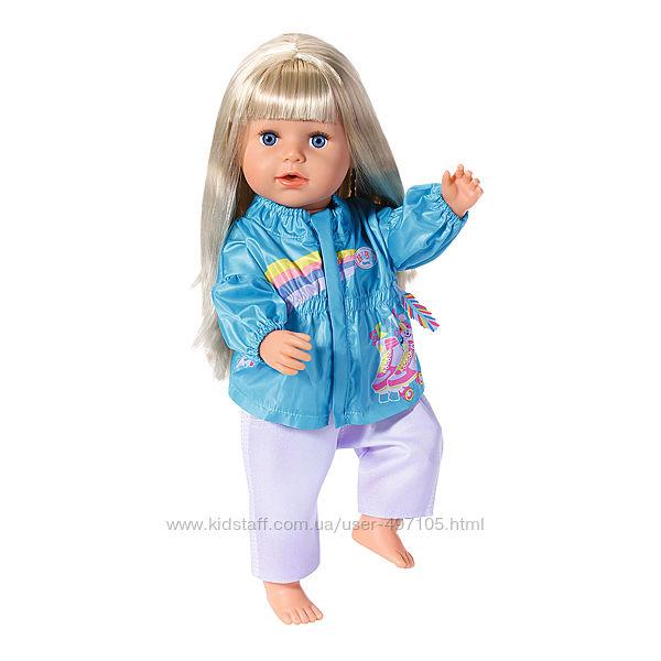 Набор одежды для куклы BABY born - Кэжуал сестрички голубой