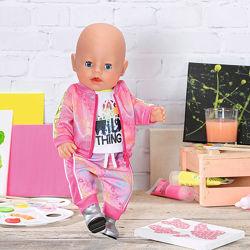 Набор одежды для куклы BABY born - Трендовый розовый беби борн