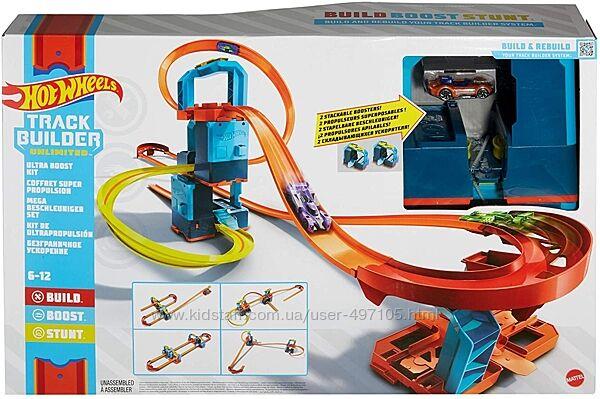 Трек Хот Вилс Ультра ускорители Hot Wheels Track Builder Unlimited Ultra