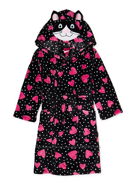 Плюшевые очень красивые халаты США, р.5-8 лет