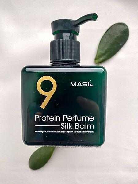 Корейськи бальзам із протеїнами для пошкодженого волосся Masil 9 Protein Pe