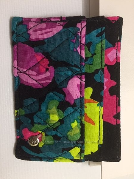 Кошелек Vera Bradley оригинал США Качественный текстиль Новый