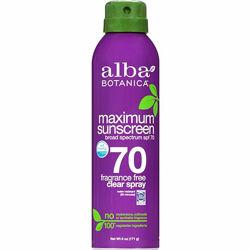 Солнцезащитные средства для детей от 6 месяцев SPF 45-70 Alba Botanica США