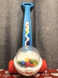 Игрушка-каталка с шариками Fisher-Price Попкорн