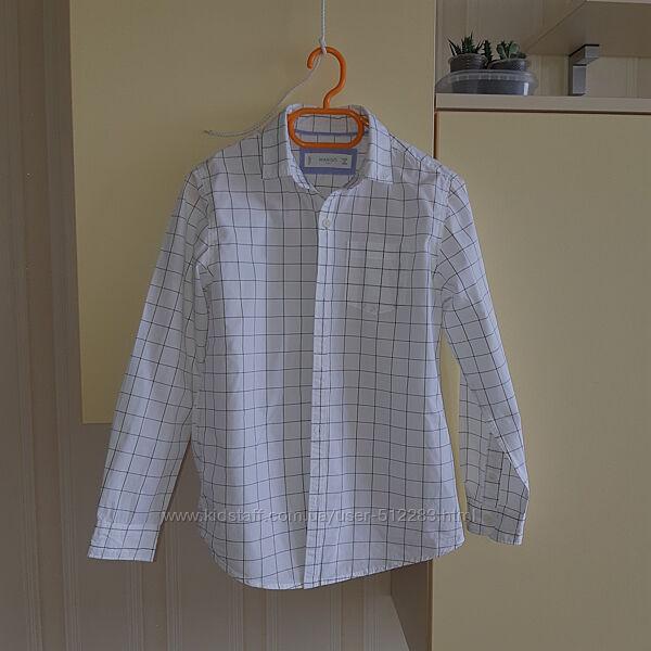 Рубашка MANGO kids р.128см