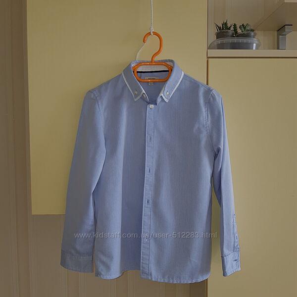 Рубашка MANGO kids р.128см, 7-8 лет