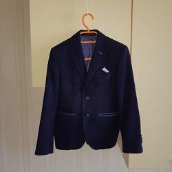 Пиджак для мальчика в школу DRESDNER р.122-128