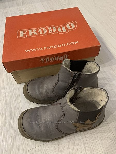 Ботинки демисезонные Froddo.