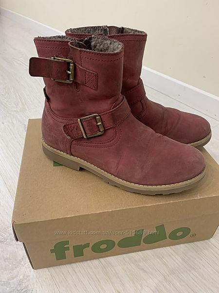 Зимние ботинки Froddo - 34 размер, стелька 22,5 см