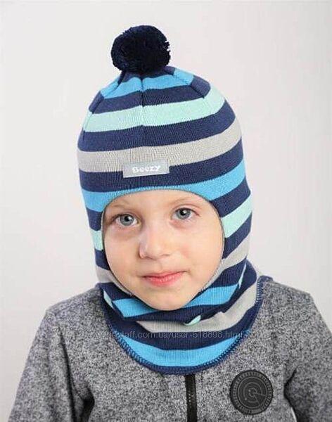 Демисезонная шапка шлем Beezy