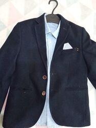 Стильный пиджак 7-9 лет