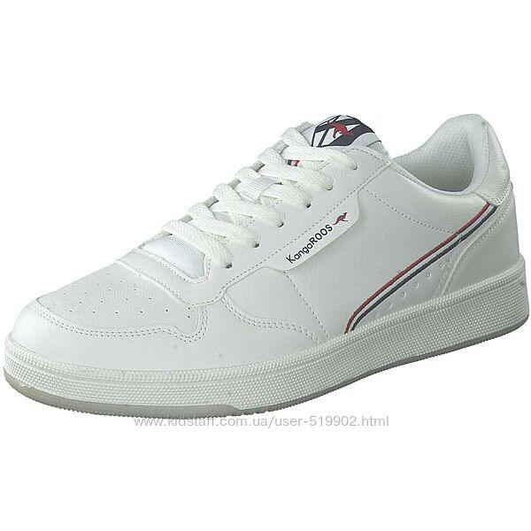 Модные кроссовки белые для девочки KangaRoos