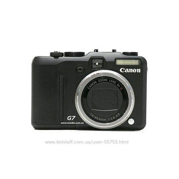 Фотоаппарат Canon Pover Shot G7, 10mp