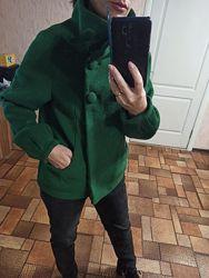 Пальто осеннее демисезонное полупальто оверсайз стильное шерстяное