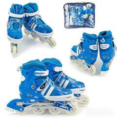 Ролики детские Inline Skate 9031 размер 31-34 в идеальном состоянии