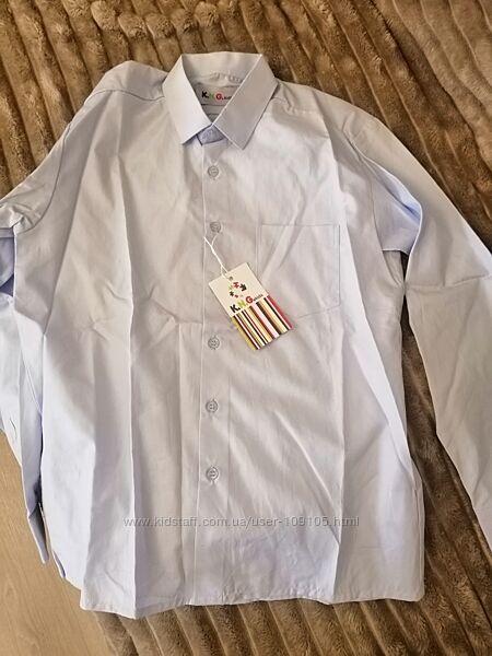 Рубашка голубая 32р