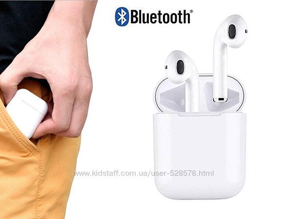 Bluetooth наушники-гарн. беспроводные TWS M1 сенсорные кнопки, хороший звук