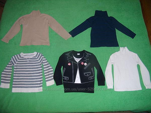 Фирменные свитерки Н&M, C&A с начесом хлопок 116-122-128 рост