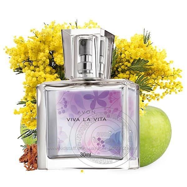 Парфюмированная вода Viva la vita, Avon, 30 мл