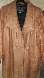 Куртка кожа винтаж