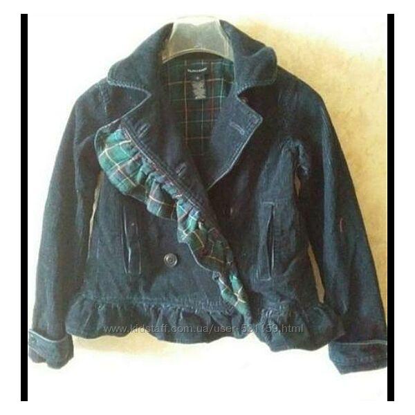 Куртка жакет вельветовый