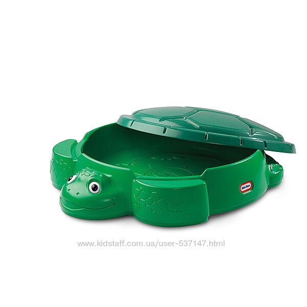 Песочница черепаха c крышкой Little Tikes США 631566