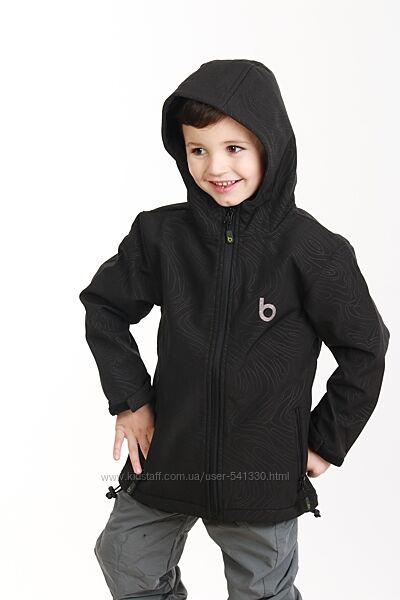 Демисезонная термо куртка softshell р.98-116 PIDILIDI