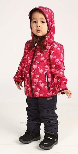 Демисезонная термо куртка softshell р.104-110 Фламинго PIDILIDI