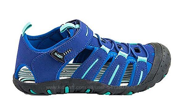 Летние трекинговые босоножки с закрытым носком р 29-30 Pidlidi синие