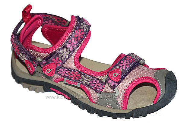 Спортивные босоножки с прорезиненным носком 30, 33, 34р Pidilidi розовые