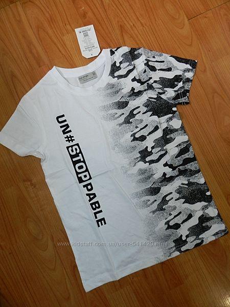 Подростковые футболки на мальчиков. Рост 134-164