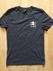 Дизайнерская футболка с принтом черепа Германия рр L-XL укр 50-52-54