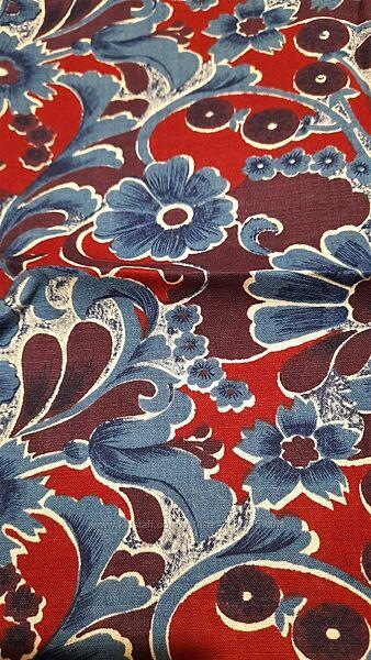 Красивейший отрез ткани ткань ситец хлопок СССР 80 на 2.40