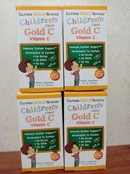 California Gold Nutrition, Витамин C в жидкой форме для детей