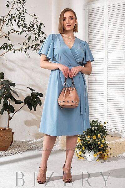 Элегантное  платье на запах В774-777