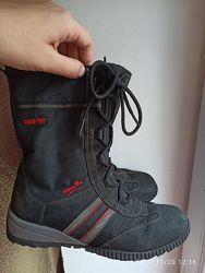Ботинки  утепленные кожа Superfit 36 размер. 23 см